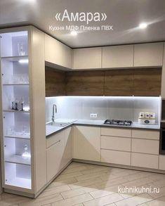 Luxury Kitchen Design, Kitchen Room Design, Kitchen Cabinet Design, Home Decor Kitchen, Interior Design Kitchen, Kitchen Modular, Modern Kitchen Cabinets, Cuisines Design, Küchen Design