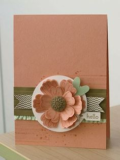 Stampin' Up! Card by Karen Thomas, Luv To Stamp: Hello!