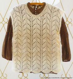 Mis Pasatiempos Amo el Crochet: Chaleco de dama