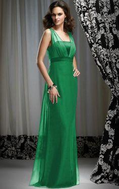 Discount Green Bridesmaid Dress BNNAH0082-Bridesmaid UK