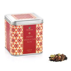 Octavius Indian Masala Chai In Tin Box - Loose Leaf Black Tea >>> Want to know more, click on the image.