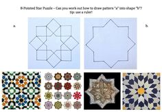 islamic tile patterns for children - Google Search