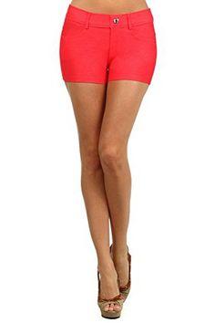 Belle Donne - Women's Short Moleton Style Solid Color Ult…