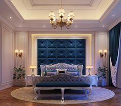 Modern Luxury Bedroom, Luxury Bedroom Design, Bedroom Bed Design, Luxury Rooms, Bedroom Furniture Design, Luxurious Bedrooms, Bedroom Decor, Classic Bedroom Furniture, Master Bedroom Interior