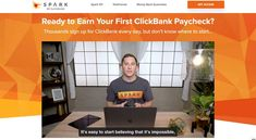 Spark is an online marketing course created by ClickBank, for NEW ClickBank users. It will teach you how to promote ClickBank products as an affiliate, and also how to create your own products and become a ClickBank seller. You'll get to learn how to use essential marketing tools such as landing page builder, autoresponder, and tracking tool. The techniques you've learned can also be applied to promote other products. #affiliatemarketing #onlinebusinesscourse #makemoneyonline Online Marketing Courses, Marketing Tools, Affiliate Marketing, Landing Page Builder, In A Little While, Training Programs, Make Money Online, How To Become, Teaching