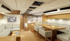 Salona 60 yacht interior