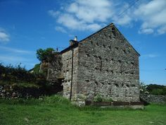 Gable end of a barn in the hamlet of Oddendale, UK. - geograph.org.uk - 202611 - Stone barns are common in parts of the United Kingdom, United States, France, and some Mediterranean countries. The projecting stones are a style in part of England. - Wikipedia, the free encyclopedia