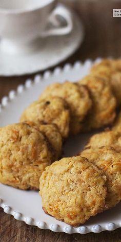 Directo al Paladar - Receta de galletas de zanahoria