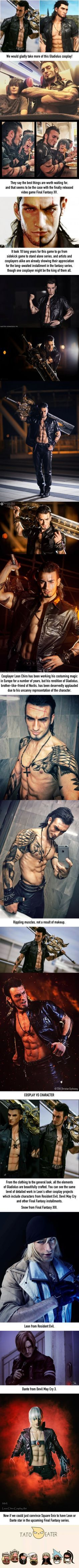 Final Fantasy XV Gladiolus cosplay is as gorgeous as the game itself