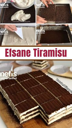 Efsane Tiramisu Tarifi (Videolu) – Nefis Yemek Tarifleri – Diyet Yemekleri – The Most Practical and Easy Recipes Best Dessert Recipes, Easy Desserts, Cake Recipes, Delicious Recipes, Dessert Simple, Wie Macht Man, Turkish Recipes, Summer Recipes, Winter Food
