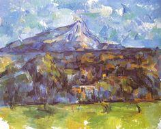 cezanne_1904_1906_mont_sainte_victoire_seen_from_les_lauves_1904_1906_2_720.jpg 720×579 pixels