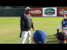 I had the chance to work the SDSU xmas baseball camp and listen to Tony Gwynn talk about hitting! Wow what a great experience this was!
