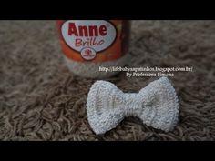 Lacinhos de Crochê Menina Bonita- Aprendendo Crochê - YouTube
