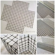 buy chicken wire at hobby lobby to make wire baskets Chicken Wire Crafts, Diy Storage Boxes, Creation Deco, Wire Baskets, Diy Home Crafts, Wire Art, Basket Weaving, Rope Basket, Diy Furniture