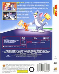 Tom and Jerry The Movie Tom And Jerry, Covered Boxes, Box Art, Cover Art, Toms