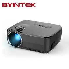 BYINTEK GP70 2017 AM01 New HD LED HDMI USB Video Digital Home Theater Portable HDMI USB LCD DLP Movie Pico LED Mini Projector