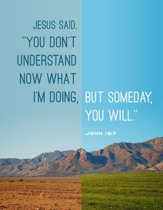 someday, you will.