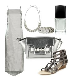 I've just created the outfit silvery night on M&S Style Board. Browse the boards and create your own! #mandsstyleboard