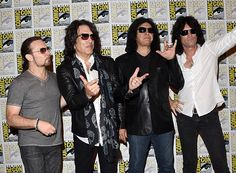 and Kiss: Rock and Roll Mystery latest photos. View images and find out more about Comic-Con International 2015 - Scooby-Doo! and Kiss: Rock and Roll Mystery at Getty Images. Kiss Rock, Scooby Doo, Rock And Roll, Gene Simmons Kiss, Mystery Photos, Eric Carr, School Of Rock, Kiss Band, Romantic Picnics