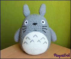 Gros Totoro Amigurumi, faits à la main