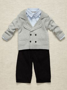 Boys 3 Piece Outfit by Wendy Bellissimo on Gilt.com  Would be cute for fall or winter family pix