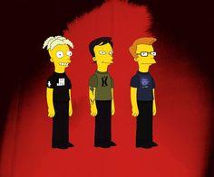 Depeche Mode simpsonised