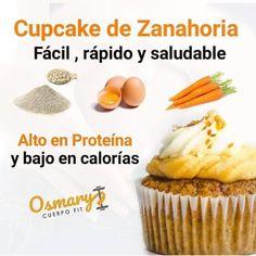 CupCake de zanahoria super rápido y fácil de preparar , en el personal me gusta mucho la zanahoria en arepas, en panquecas, en ensaladas,…