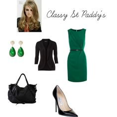 Classy St Paddy's, created by divineleonine