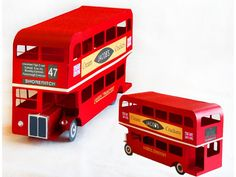 3D Classic London Bus | SnapDragon Snippets
