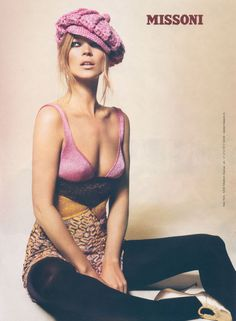 Kate Moss in Missoni