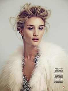 Rosie Huntington-Whiteley for Vogue Mexico