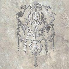 Stencil Wall Raised Plaster Breckenridge