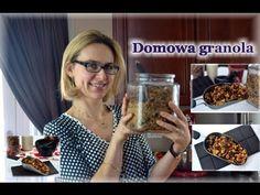 Domowa granola czekoladowo - czereśniowa/zdrowe przepisy/kierunek zdrowie - YouTube