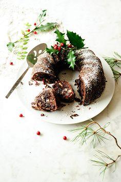 chocOlate walnut fudge cake