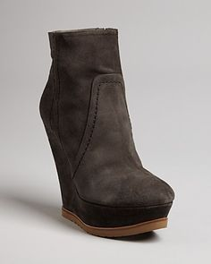 PURA LÓPEZ Wedge Platform Booties - New Arrivals - Boutiques - Shoes - Bloomingdale's