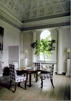 Dining Room - Bellamont Forest, Ireland
