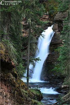 Mineral Creek Falls Silverton, Colorado  By Tommy Simms