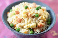 Riz cantonais express au thermomix. Je vous propose une recette de riz cantonais express, une recette rapide et simple à préparer avec le thermomix.