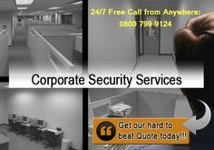 Correx Security Services provides all kinds of professional commercial security operatives nationwide.We are successfully handing many private & public sector businesses with our corporate security expertise.