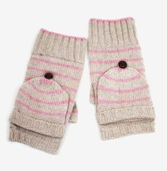 Fall is approaching accessorize with these cute mittens.