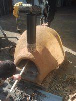 Construction détaillée de fours à pain en terre-paille - Terre Paille et Compagnie