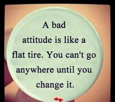 The right attitude is all that matters