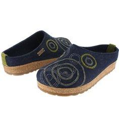 6b7b76a67375 Amazon.com  Haflinger Women s Swing 731031 Blue  Shoes