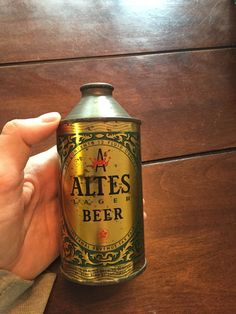 Altes Lager Beer Cone Top Can 12oz Detroit Michigan San Diego CA | eBay