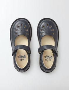 e9298b6eb36 Leather Mary Janes 56026 Flats at Boden Navy Girl