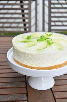 Pie Recipes, Sweet Recipes, Dessert Recipes, Piece Of Cakes, Confectionery, No Bake Desserts, No Bake Cake, Vanilla Cake, Lime