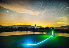 #Nightgolf mit #LED #Golfbällen. Beim #Putten auf dem #Green. #golf #golfing #golfgods #golfer #golfporn #wintergolf #golfcourse #whyilovethisgame #golfpresent #golfballs #findgolfballs #nightgolf