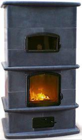 Sinatra Cucina Soapstone Wood Burning Stove...90% efficient
