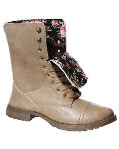 rue21 Combat Boots. $29.99