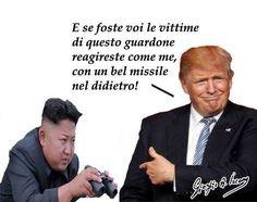 """I guardoni coreani sono i più fastidiosi per Trump Corea del Nord, il regime sfoggia i nuovi missili e minaccia: """"Pronti alla guerra nucleare"""". Le provocazioni del Coreano del Nord non si possono accettare. E quelle americane? Le bombe nucleari co #coreadelnord #usa"""
